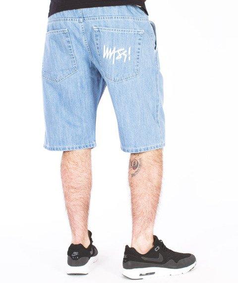 Mass-Signature Shorts Straight Light Blue