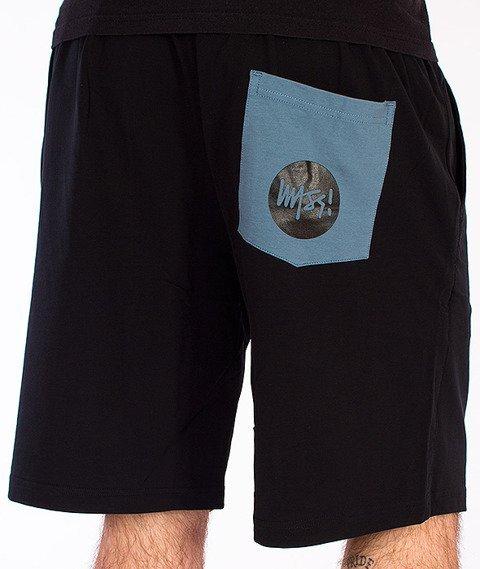 Mass-Signature Spodnie Dresowe Krótkie Czarne