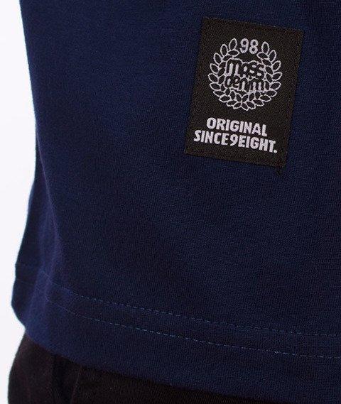 Mass-Signature T-shirt Granatowy