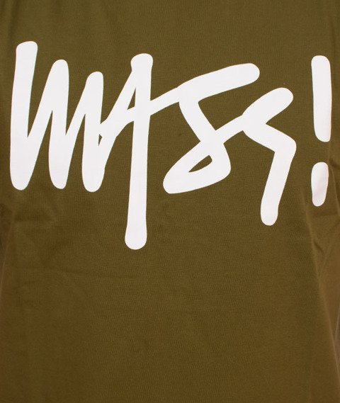 Mass-Signature T-shirt Khaki