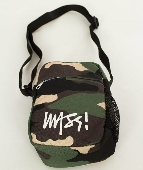 Mass-Small Bag Signature Listonoszka Woodland Camo