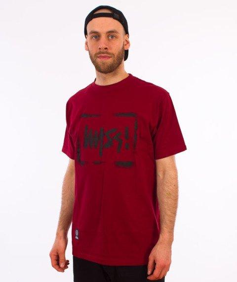 Mass-Street Sign T-Shirt Bordo
