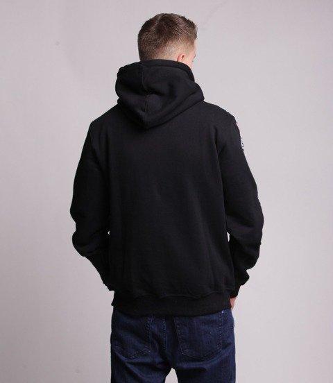 Mass TRACK Bluza z Kapturem Czarny