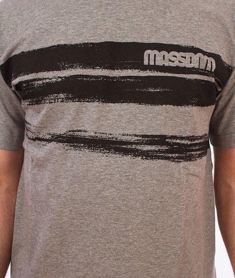 Mass-Traces T-shirt Szary