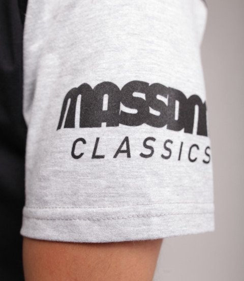 Mass Triple T-Shirt Czarny