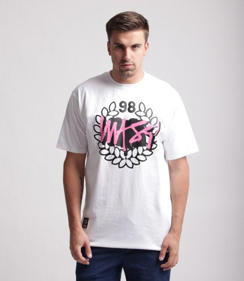 Mass Vandalised T-Shirt Biały