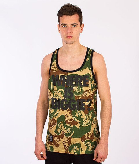 Mass-Where Is Biggie Tank-Top Multikolor