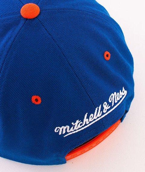 Mitchell & Ness-Camo Infill New York Knicks Snapback VC96Z