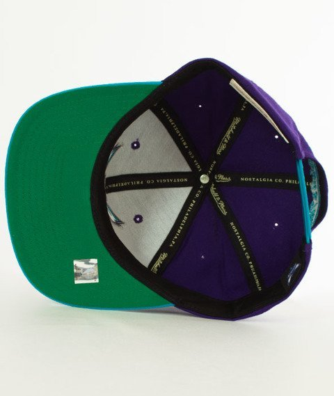Mitchell & Ness-Charlotte Hornets XL Logo Two Tone NM04Z