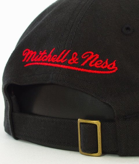 Mitchell & Ness-Chicago Bulls Washed Snapback Czapka Czarna