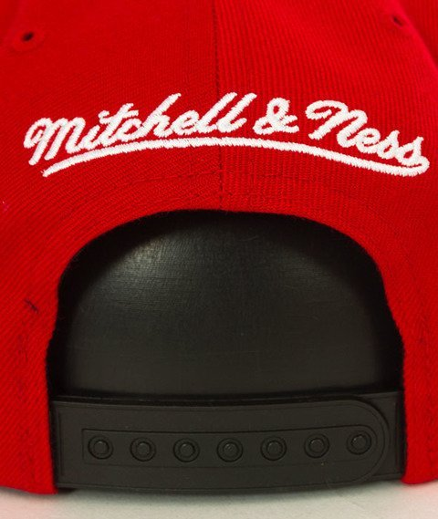 Mitchell & Ness-Chicago Bulls XL Logo Two Tone NJ16Z