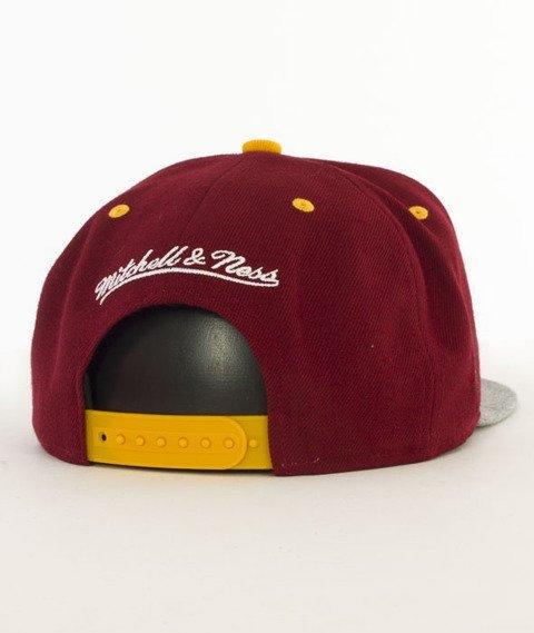 Mitchell & Ness-Greytist Cleveland Cavaliers Snapback EU938 Bordowy/Szary