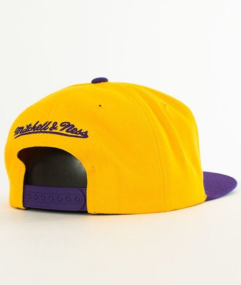 Mitchell & Ness-Los Angeles Lakers XL Logo Two Tone NM04Z