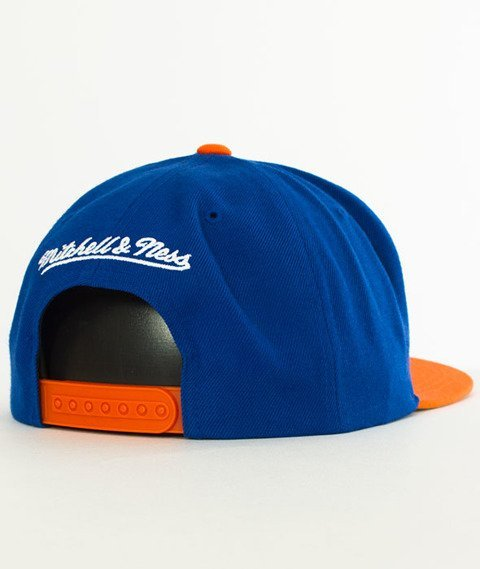 Mitchell & Ness-New York Knicks XL Logo Two Tone NJ16Z