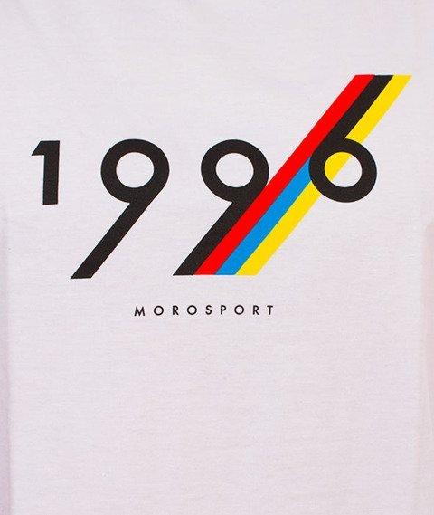 Moro Sport-1996 Line T-Shirt Biały