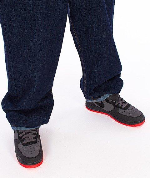 Moro Sport-Baggy Spodnie Ciemny Jeans