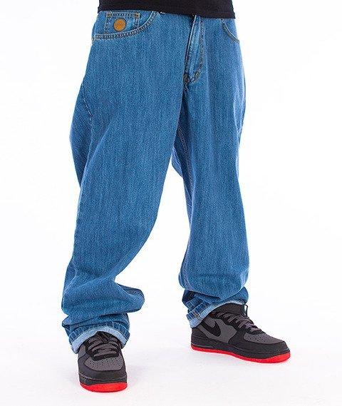 Moro Sport-Baggy Spodnie Jasny Jeans