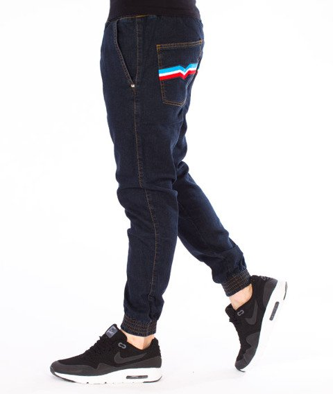 Moro Sport-Gym3Colors Jogger Spodnie Średnie Pranie