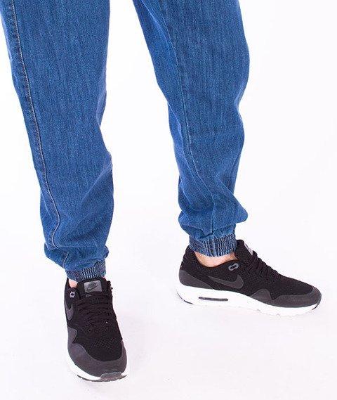 Moro Sport-Jogger Regular Spodnie Średni Jeans