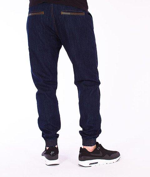 Moro Sport-Jogger Slim 2 Spodnie Ciemny Jeans
