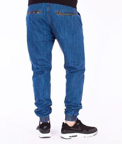 Moro Sport-Jogger Slim 2 Spodnie Średni Jeans