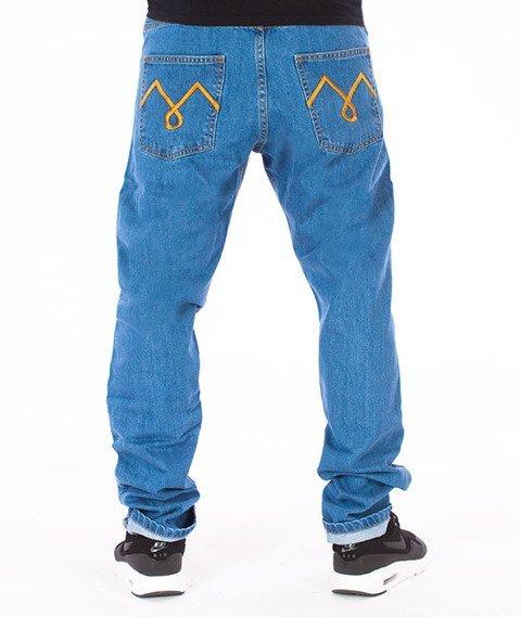 Moro Sport-M-Stitch Slim Spodnie Jasne Pranie