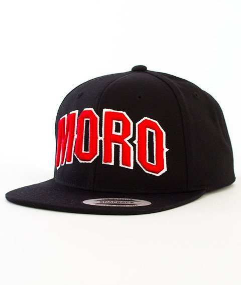 Moro Sport-MORO Czapka Snapback Czarna
