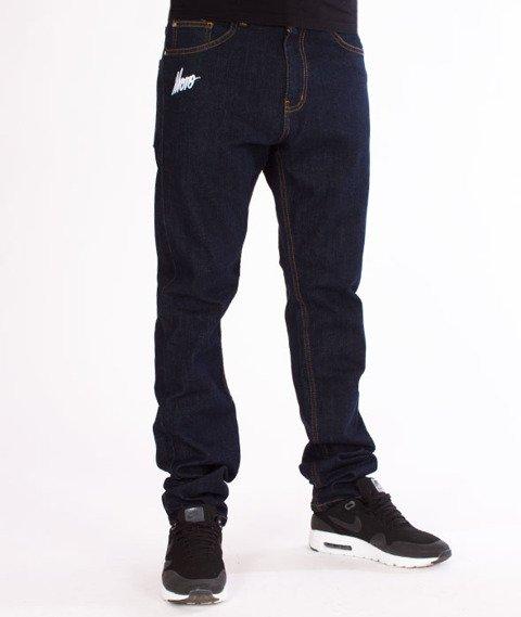 Moro Sport-Mini Slant Tag18 Slim Spodnie Ciemne Pranie