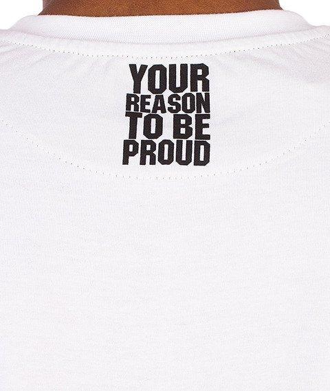 Moro Sport-Paris Camo T-Shirt Biały