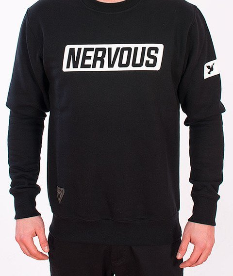 Nervous-Back To Crewneck Black