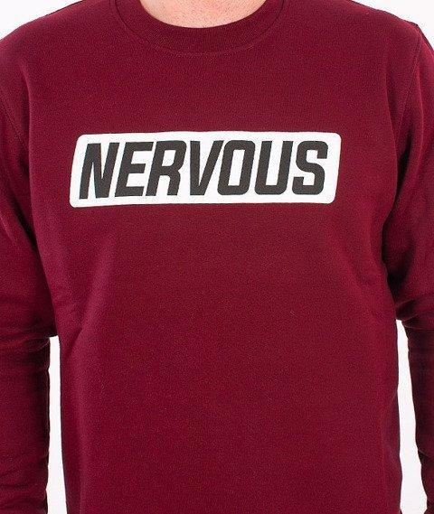Nervous-Back To Crewneck Maroon