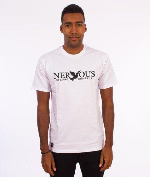 Nervous-Classic F17 T-shirt Biały