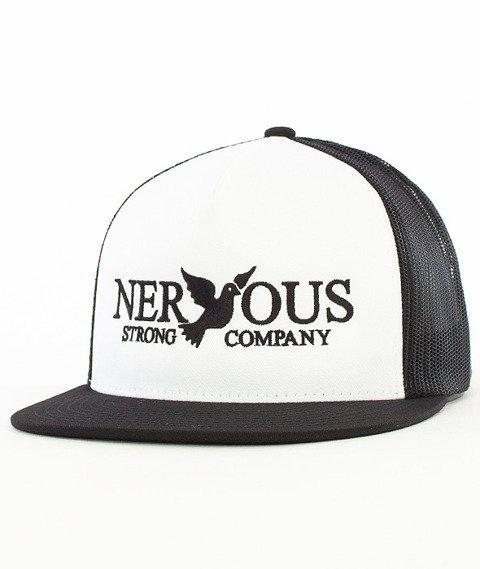 Nervous-Classic Snapback Tirówka Biała/Czarna