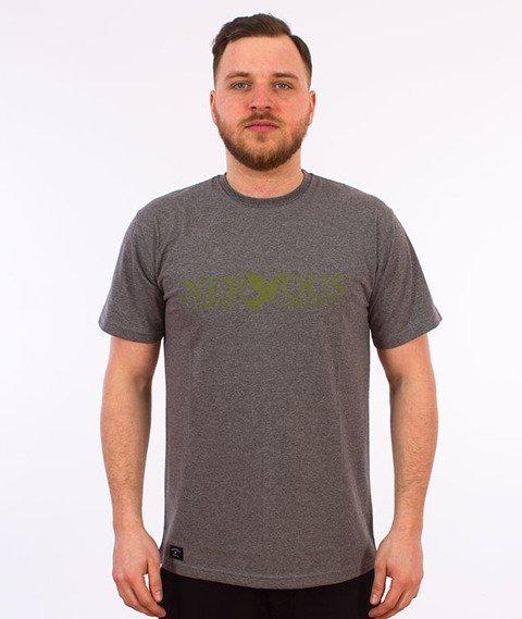 Nervous-Classic T-Shirt Szary/Oliwkowy