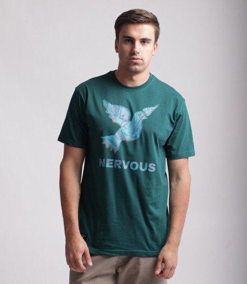 Nervous SS19 LCD T-Shirt Zielony