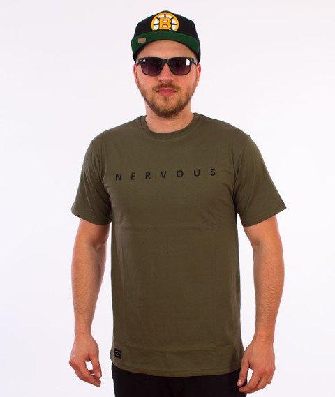 Nervous-Space T-Shirt Oliwkowy