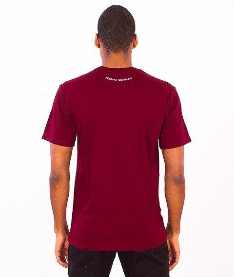 Nervous-Swirl T-Shirt Maroon