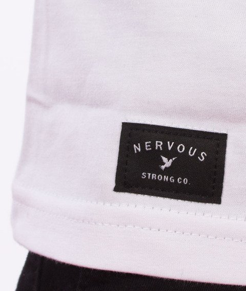 Nervous-Tvnoise T-Shirt Biały