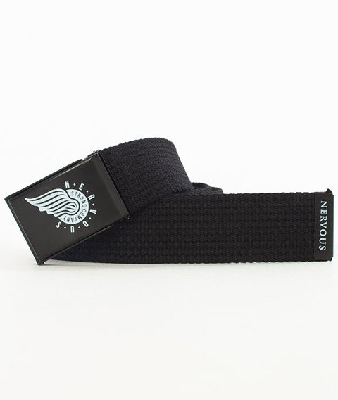 Nervous-Wing Pasek Black/Black