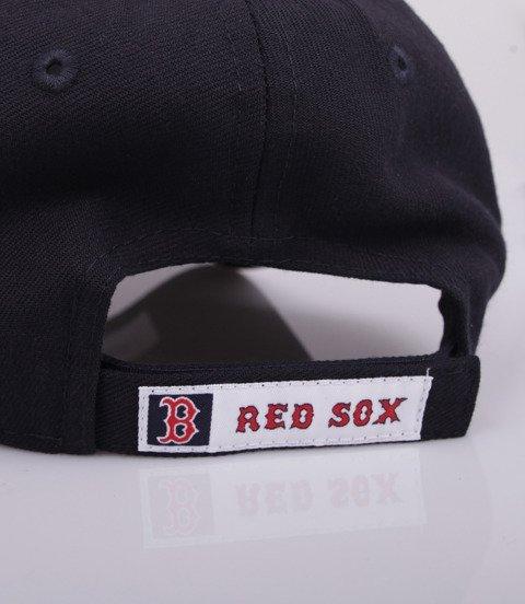 New Era BOSTON RED SOX Team 9Forty Czapka z Daszkiem Granatowy
