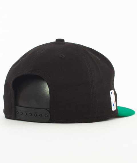 New Era-Boston Celtics NBA Black Base 9Fifty Snapback Czapka Black/Green