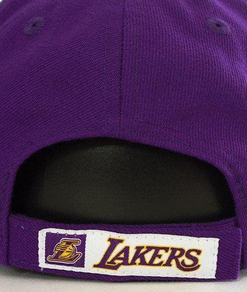 New Era-LA Lakers NBA Team 9Forty Czapka z Daszkiem Fioletowa