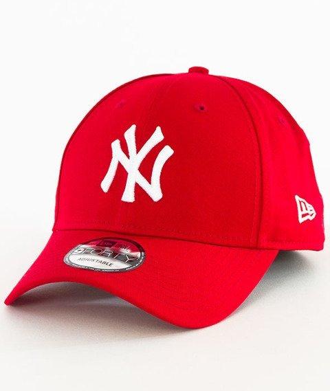 New Era-New York Yankees 940 League Czapka z Daszkiem Czerwona
