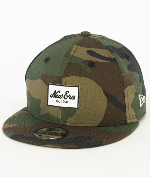New Era-Patched Tone Snapback Camo