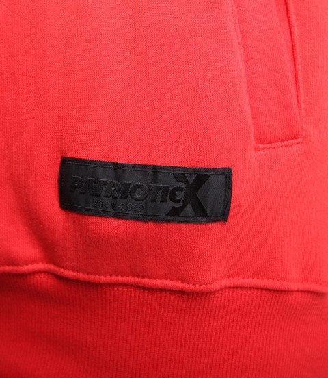Patriotic Big Laur Bluza z kapturem Czerwony