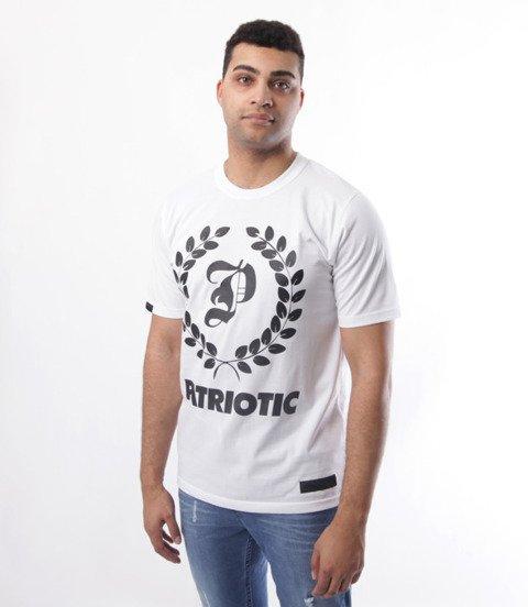 Patriotic-Big Laur T-shirt Biały