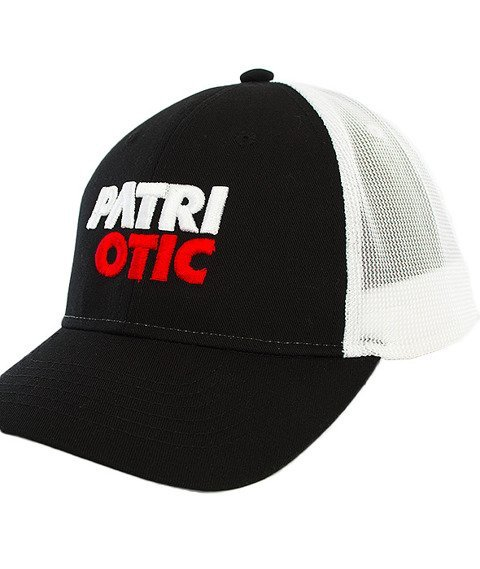 Patriotic-CLS Baseball Snapback Czarny/Białly
