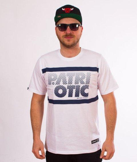 Patriotic-CLS Particles T-shirt Biały