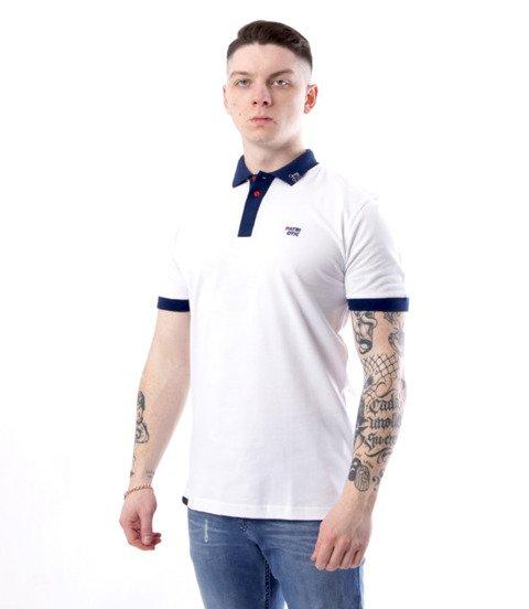 Patriotic-CLS Polo T-shirt Biały