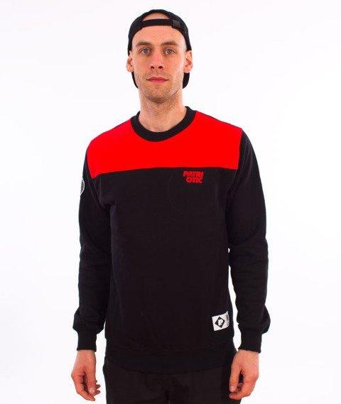 Patriotic-CLS Shoulder BKL Bluza Czarny/Czerwony